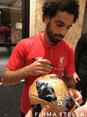 Mo Salah Signing Authenticity