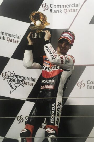 Danny Pedrosa Signed Photo - Moto GP Legend