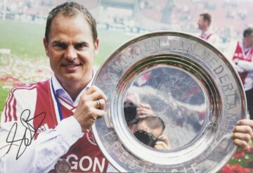 Frank De Boer Signed Photo - Ajax Football - Firma Stella