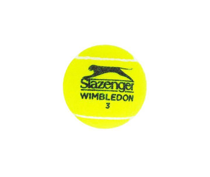 Grigor Dimitrov Signed Tennis Ball - Wimbledon - Front - Firma Stella