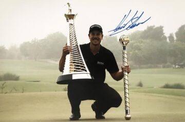 Henrik Stenson Signature, Signed Golf Photo - Firma Stella
