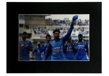 Kuldeep Yadav Signed Photo, India Cricket Display