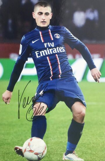 Marco Verrati Signature - PSG Photo