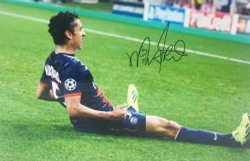 Marquinhos Signed Photo, PSG Football