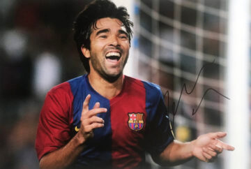 Signed Deco Photograph - FC Barcelona