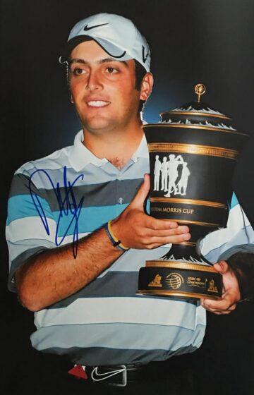 Signed Francesco Molinari Photograph - Golf Signature - Firma Stella
