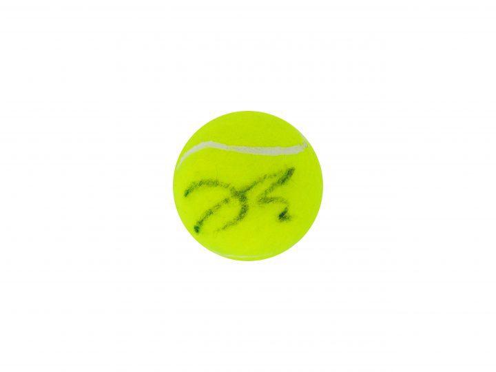 Signed Johanna Konta Wimbledon Tennis Ball