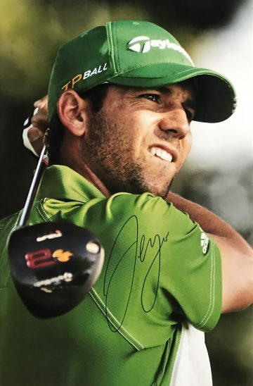 Signed Sergio Garcia Photo, Genuine Golf Autograph - Firma Stella