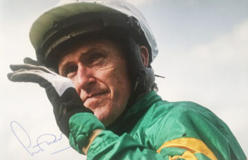 Signed Tony McCoy Photo