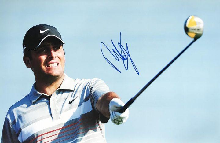 Francesco Molinari Signature - Genuine Golf Autograph - Firma Stella