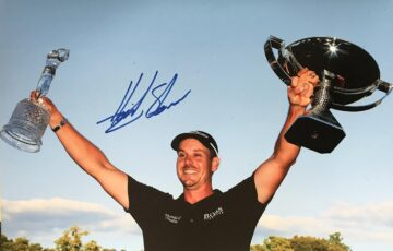 Henrik Stenson Autographed Photo, Golf Champion - Firma Stella