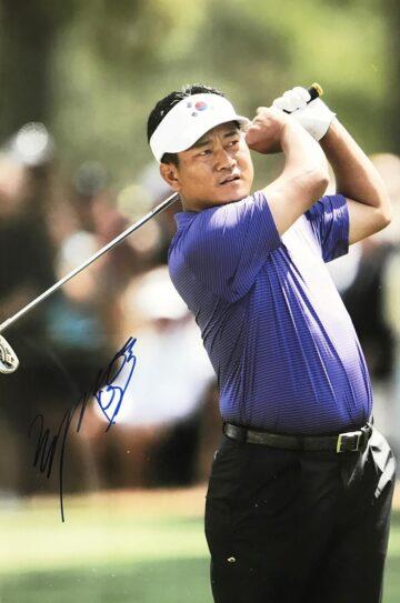 KJ Choi Signature, Autographed Golf Photo - Firma Stella