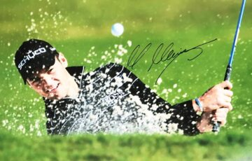 Martin Kaymer Signature, Signed Golf Photo - Firma Stella