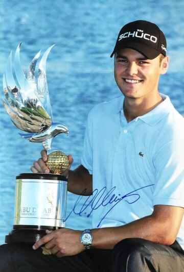 Martin Kaymer Signed Photo, German - Golf Champion - Firma Stella