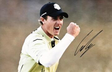Nicolas Colsaerts Signed Photo, Historic Ryder Cup Medinah - Firma Stella