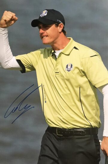 Nicolas Colsaerts Signed Photo, Ryder Cup Winner - Firma Stella