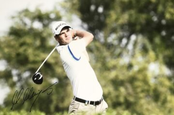 Signed Martin Kaymer Photo, Genuine Golf Signature - Firma Stella