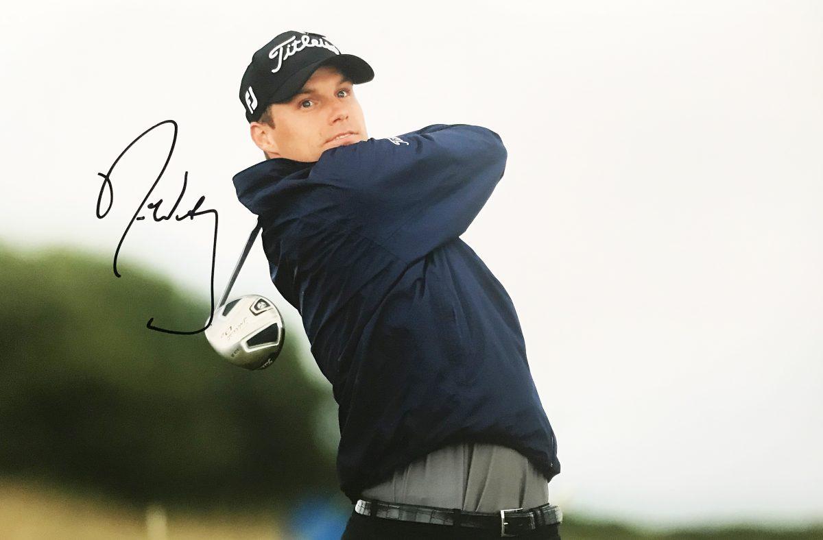 Signed Nick Watney Photo - Golf Swing Action Shot