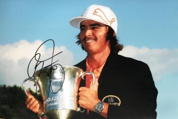 Signed Rickie Fowler Photo, USA Golf Autograph - Firma Stella