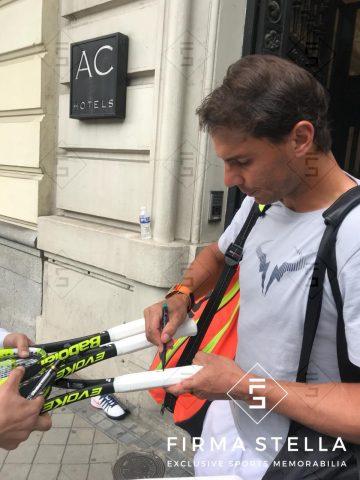 Rafel Nadal Signing - Firma Stella
