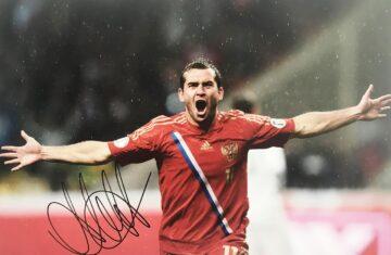 Aleksandr Kerzhakov Signature - Signed Russia Soccer Poster Photo