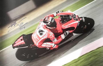 Andrea Dovizioso Autograph - Iconic Moto Grand Prix Signed Poster