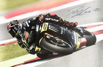 Autographed Andrea Dovizioso Poster - Authentic Moto GP Autograph