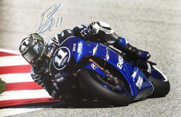 Ben Spies Autograph - Signed Moto GP Poster