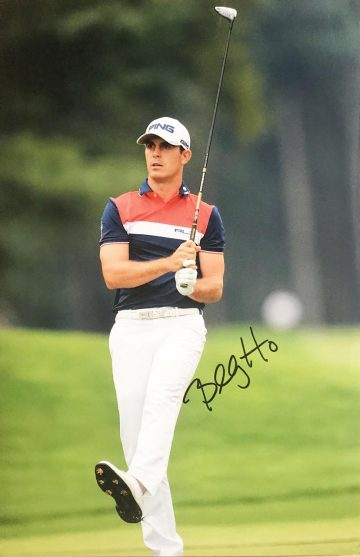 Billy Horschel Signed Poster - Photo Genuine Golf Autograph