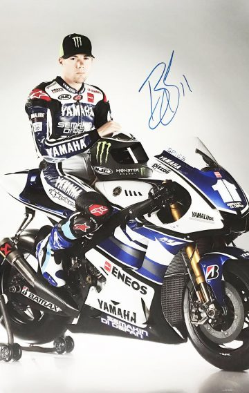 Bradley Smith Autograph - Authentic Signed Moto GP Poster