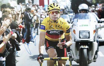 Cadel Evans Autograph - Signed Tour de France Poster