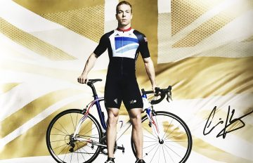 Chris Hoy Autograph - Authentic Signed London 2012 Olympics Poster