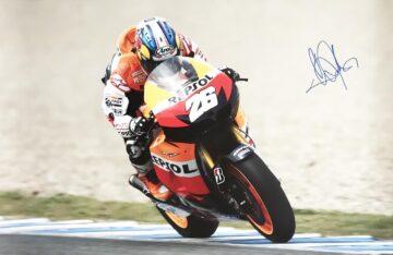 Dani Pedorsa Signed Poster - Genuine Moto GP Autograph