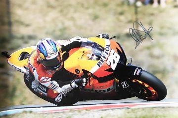 Dani Pedrosa Autograph - Signed Moto Grand Prix Poster