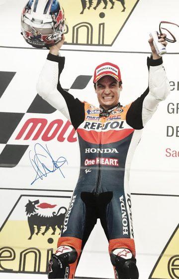 Genuine Dani Pedrosa Autograph - Authentic Moto GP Signed Poster