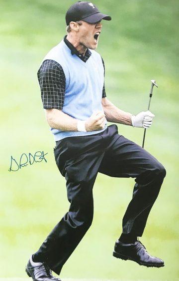 Graham Delaet Autograph - Signed Golf Poster Photo