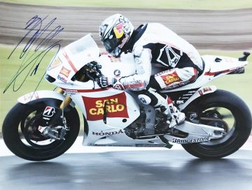 Hiroshi Aoyama Autograph - Genuine Moto GP Signature