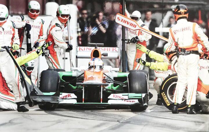 Paul Di Resta Autograph - Authentic Formula 1 F1 Signed Poster