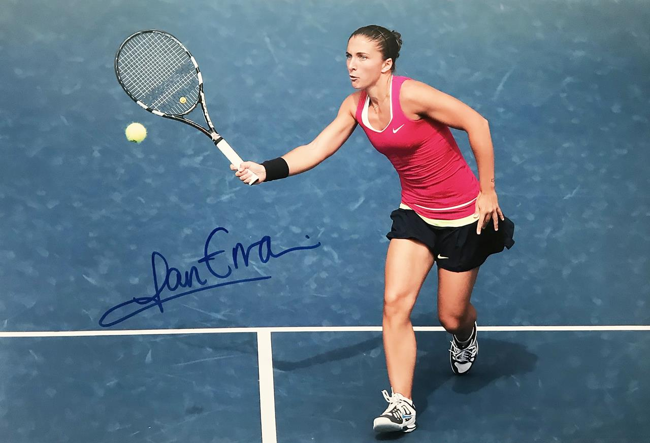 Sara Errani Autograph - Authentic Tennis Signed Poster Photo