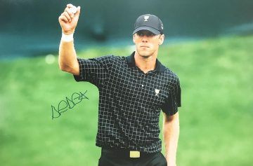 Signed Graham Delaet Poster Photo - Genuine Golf Autograph