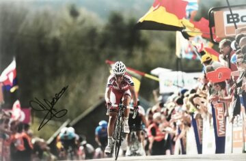 Signed Joaquim Rodriguez Poster Photo - Genuine Cycling Signature
