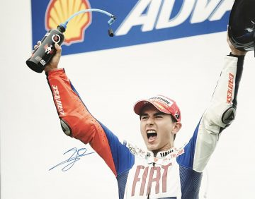 Signed Jorge Lorenzo Poster - Photo Genuine Moto GP Signature