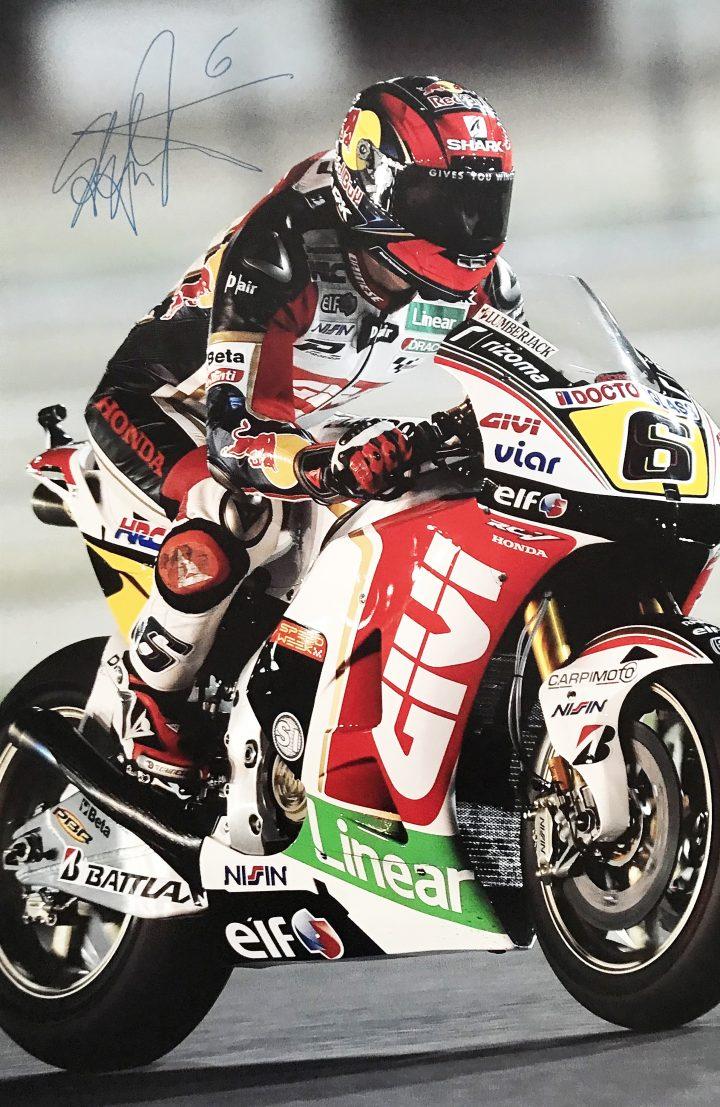 Signed Stefan Bradl Poster - Genuine Moto Grand Prix Autograph