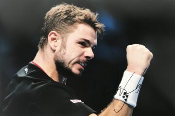 Stan Wawrinka Autograph - Authentic Tennis Signed Poster Photo