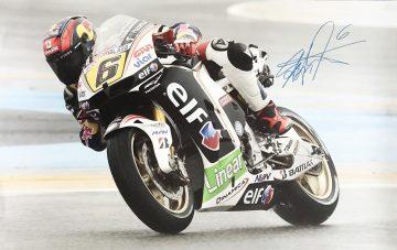 Stefan Bradl Autograph - Signed Moto Grand Prix Poster