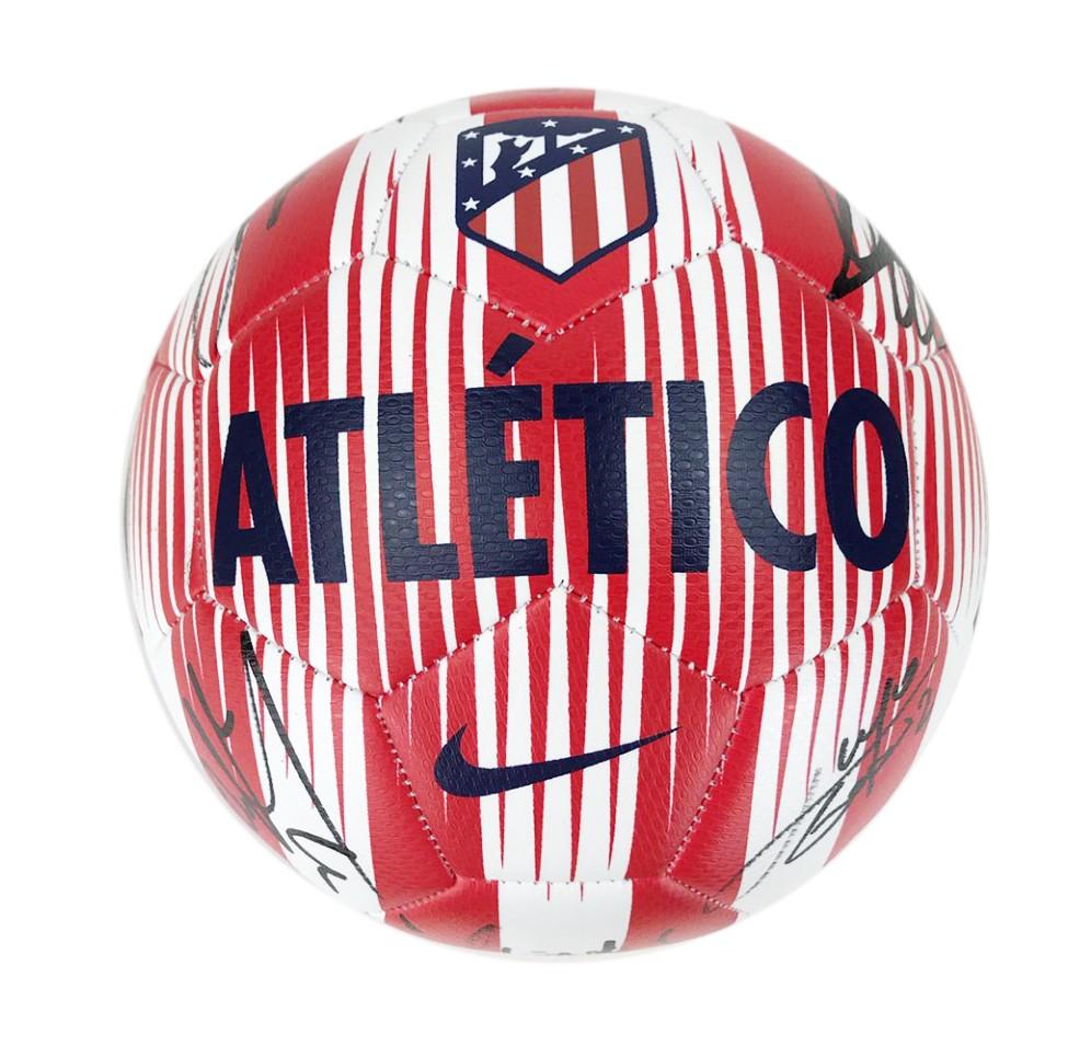 Signed Atletico Madrid Football