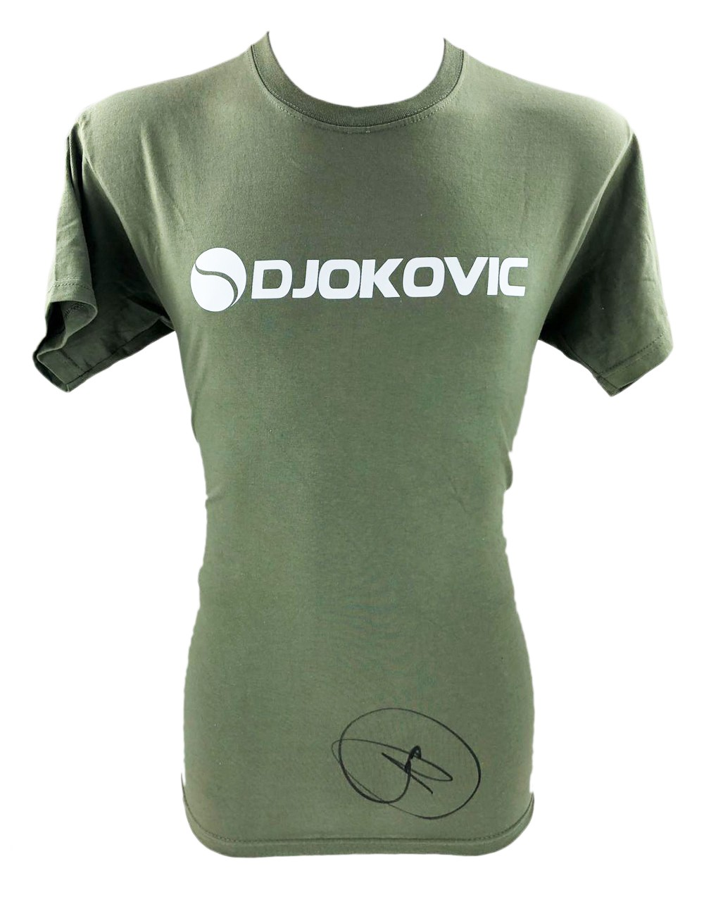 Signed Novak Djokovic Shirt Genuine Tennis Autograph Firma Stella
