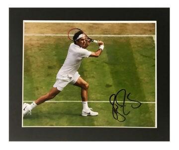Signed Roger Federer Photo