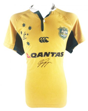 Signed George Gregan Jersey
