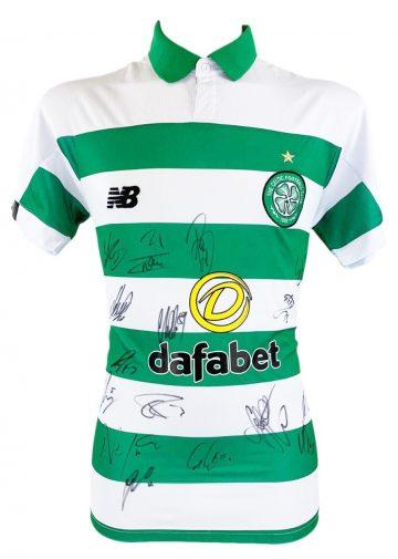 Autographed Celtic FC Shirt